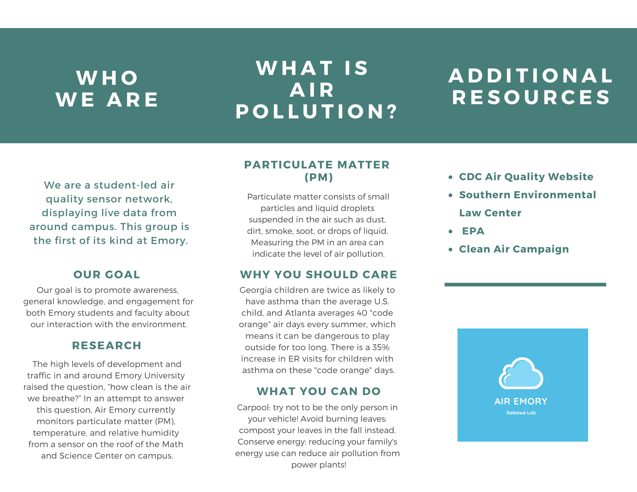 Outreach | Air Emory